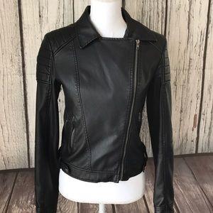 Brandy Melville Patent leather Jacket size medium
